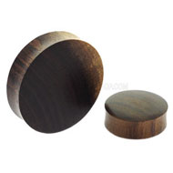 Sono Wood Large Gauge Flesh Plug