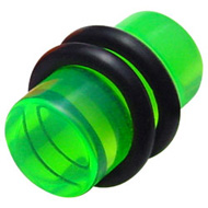 Green UV Flesh Plug