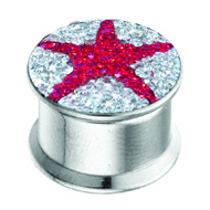 Star Crystalline Box Flesh Plug