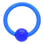 Blue UV Ball Closure Ring