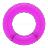 Purple UV Segment Closure Ring