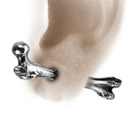 Femur Bone Alchemy Earring