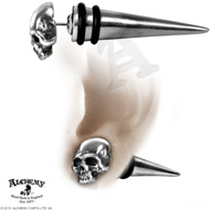 Tomb Skull Spike Earring
