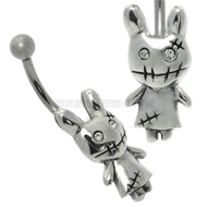 Zombie Bunny Belly Button Bar