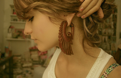 Wooden-Stretched-Ear-Jewellery