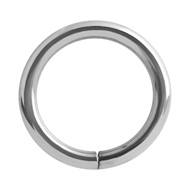 Titanium Continuous Piercing Ring
